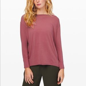 Purple Lululemon Long sleeve